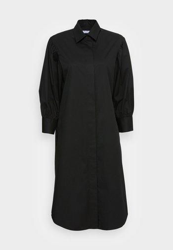 Skjortekjole - schwarz