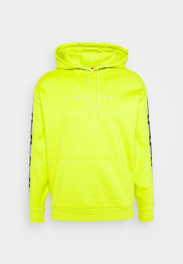 HENNART - Hoodie - lime punch