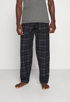 Pyjamahousut/-shortsit - black/blue
