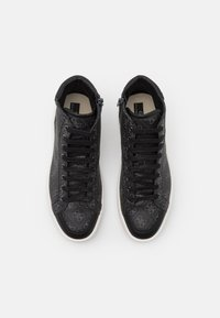 Guess - VERONA MID - Sneakers alte - black/coal - 3
