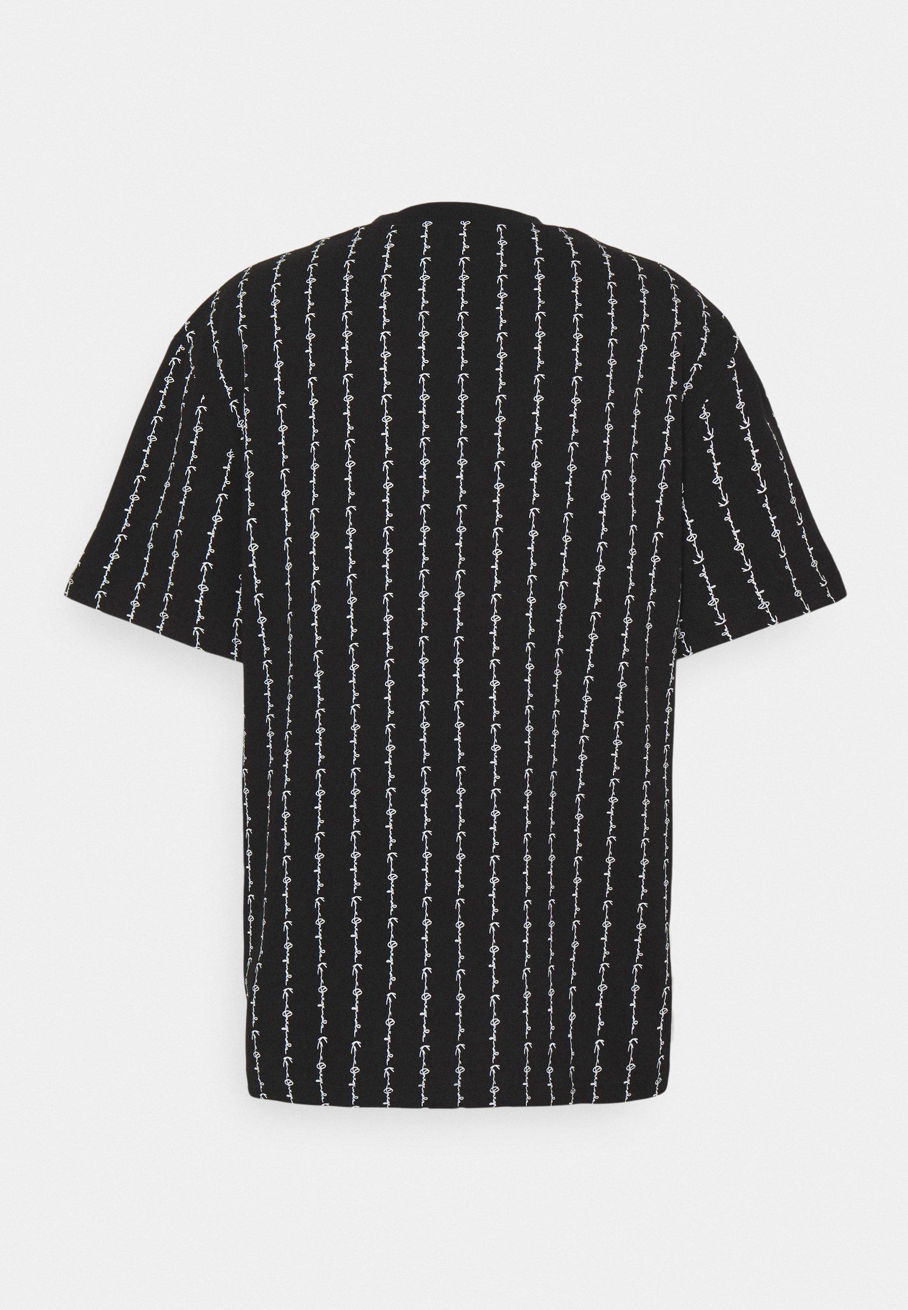 Herren SIGNATURE LOGO PINSTRIPE TEE - T-Shirt print