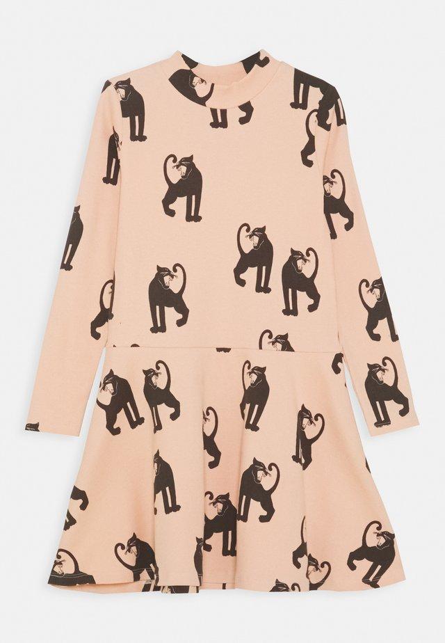 PANTHER DRESS - Vestito di maglina - pink