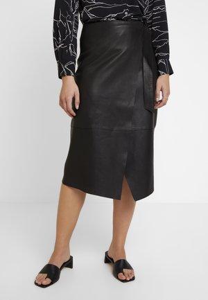 ALBA SKIRT - Pencil skirt - black