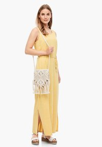 s.Oliver - Maxi dress - yellow melange - 1