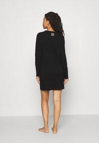 Calvin Klein Underwear - ICONIC LOUNGE NIGHTSHIRT - Nightie - black - 2