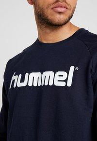 Hummel - GO LOGO - Sweatshirt - marine - 5