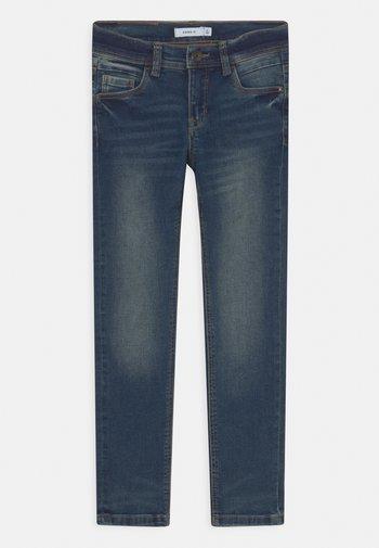 NKMSILAS - Jeans Skinny Fit - dark blue denim
