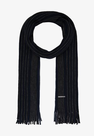 Scarf - grey/dark blue/black