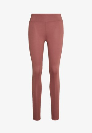 MULTIPATH LEGGING - Tights - rose/brown
