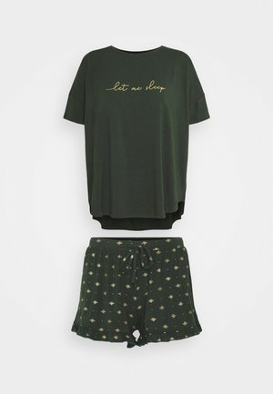 PJ SHORT LOOSEFIT BEE SET - Pyjama set - duffel bag
