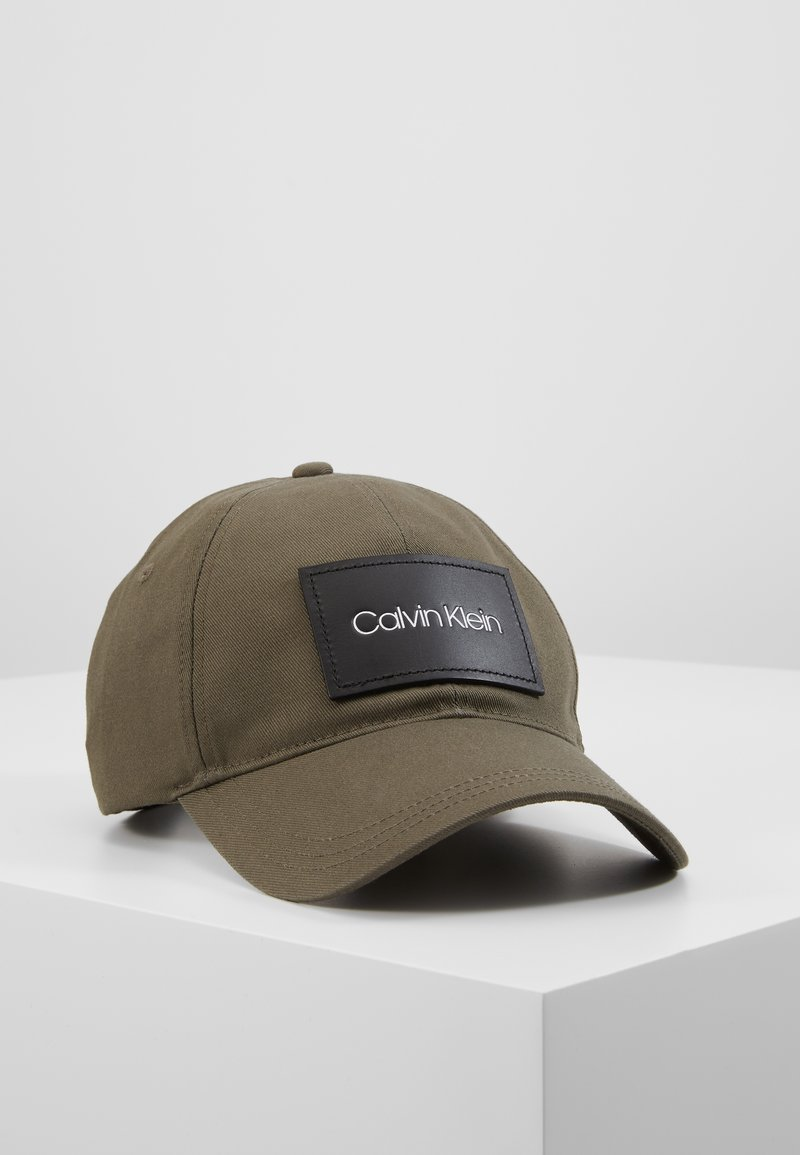 Calvin Klein - PATCH - Cap - green