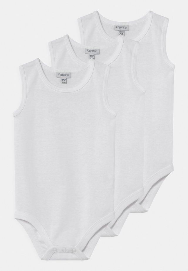 3 PACK UNISEX - Body - white