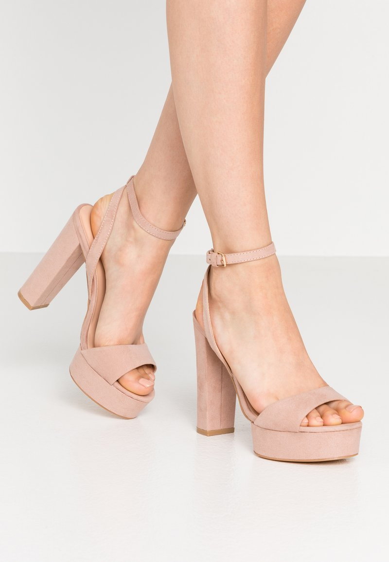 Even&Odd - Sandaler med høye hæler - nude