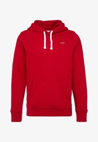 Hollister Co. - CORE ICON - Hoodie - red - 4
