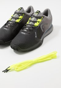 Head - SPRINT CLAY - Tenisové boty na antuku - black - 5