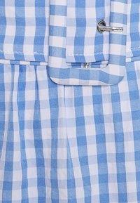 VILA PETITE - VIGRIMDA MINI BELT SKIRT - Mini skirt - cashmere blue/white - 2