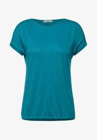 Cecil - MIT U-BOOT AUSSCHNITT - Basic T-shirt - blau - 3