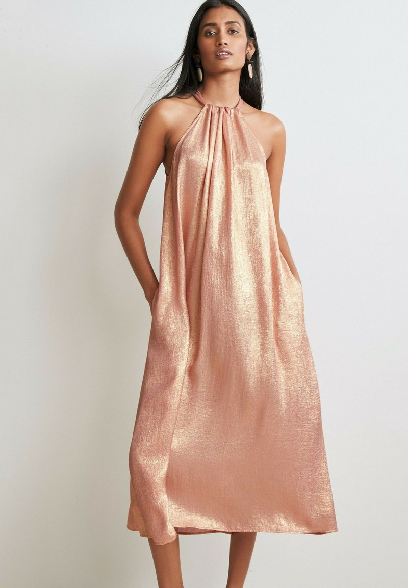 Next - Cocktail dress / Party dress - rose gold coloured