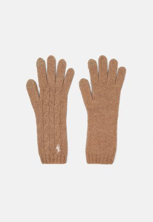Gloves - camel