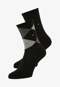 Tommy Hilfiger - 2 PAIRS PACK - Calcetines - black - 0