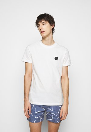 SEAL  - T-shirt z nadrukiem - white