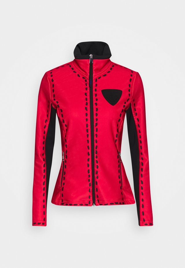 DIXY SOFT - Softshelljacke - red