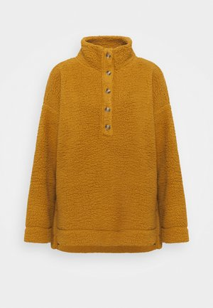 QUARTER BUTTON - Fleece jumper - pod