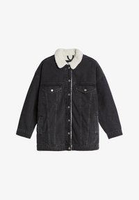 Bershka - Denim jacket - black - 4