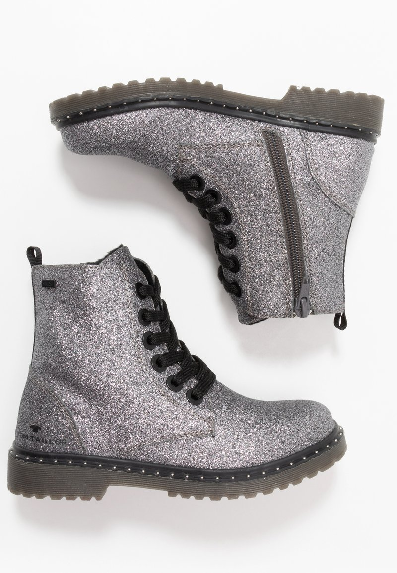 TOM TAILOR - Veterboots - silver