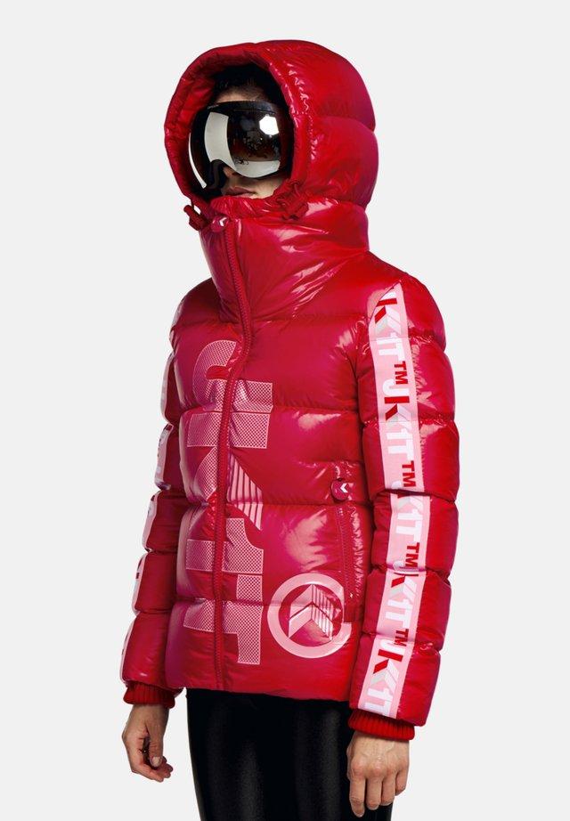 PRIME SLICK RACER - Doudoune - cherry red/pink