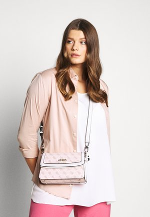 CAMY CROSSBODY FLAP - Bandolera - blush/multi