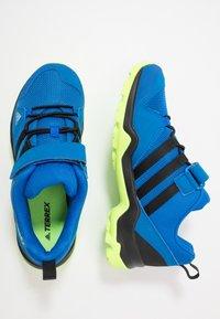 adidas Performance - TERREX AX2R UNISEX - Hiking shoes - glow blue/core black/signal green - 0