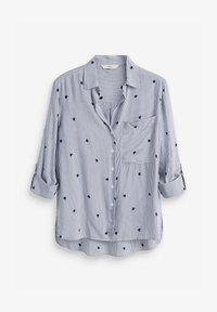 Next - Button-down blouse - white - 2