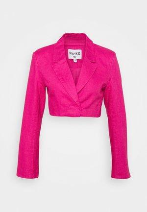 CROPPED  - Blazer - pink