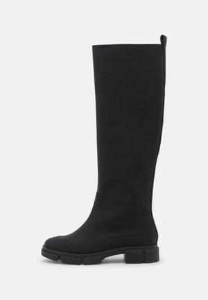 YASRAINY KNEE HIGH BOOTS - Vysoká obuv - black