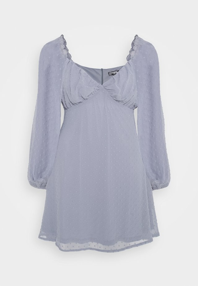 MILKMAID SKATER DRESS  - Day dress - grey