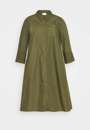 LOLA DRESS - Shirt dress - grape leaf