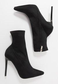 BEBO - JOHANNA - Kotníková obuv na vysokém podpatku - black - 3