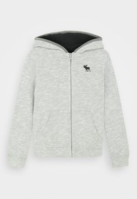 Abercrombie & Fitch - ICON SHERPA - Zip-up hoodie - grey - 0