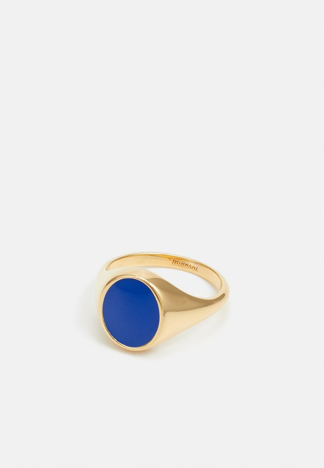 HERITAGE RING - Anello - gold-coloured/blue