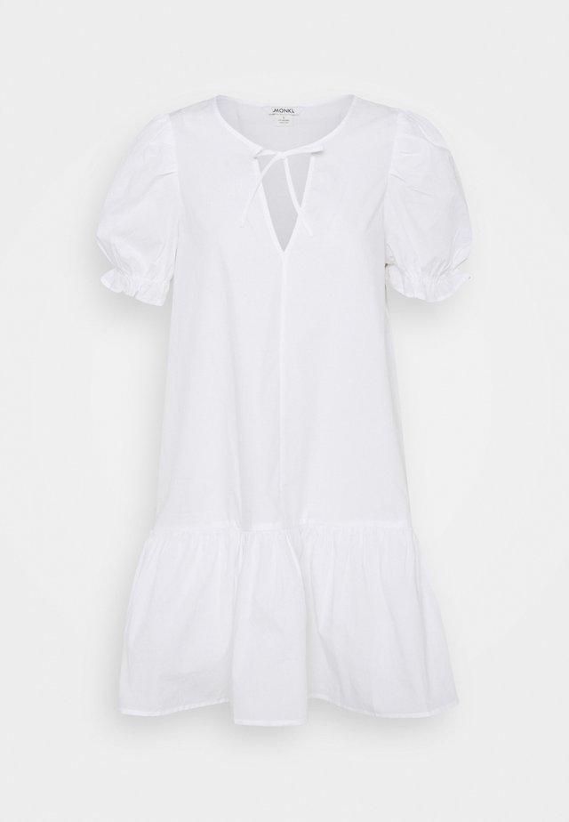 SELMA DRESS - Sukienka letnia - white light