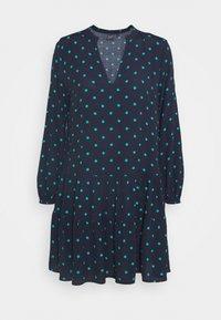 TIERED MINI - Day dress - green