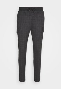 Brave Soul - ROCKER - Tracksuit bottoms - dark grey - 3