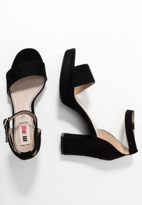 mtng - VOLGA - High heeled sandals - black - 3