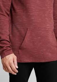 edc by Esprit - FUNNEL NECK TEE - Long sleeved top - bordeaux red - 5