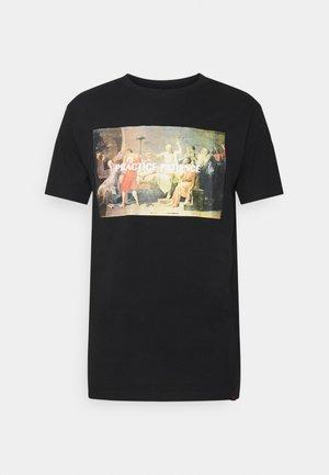 PHOTO TEE - Print T-shirt - black