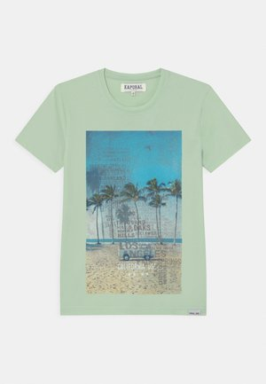 BEACHFRONT  - Print T-shirt - mint