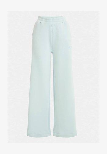 HOSE SCUBA LOGOSTREIFEN - Trousers - himmelblau