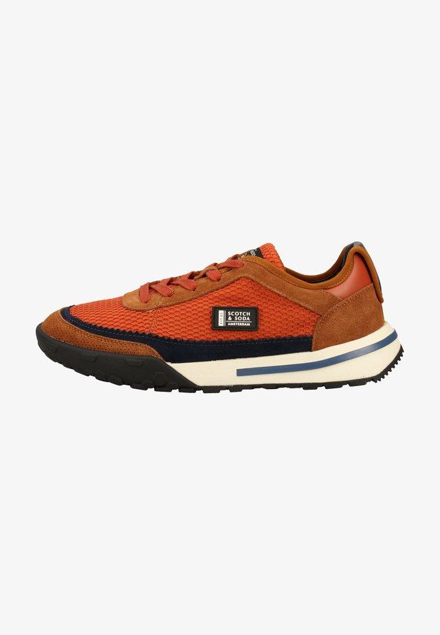 Sneakers laag - rost brown s