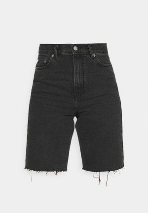 ECHO  - Jeansshorts - charcoal black
